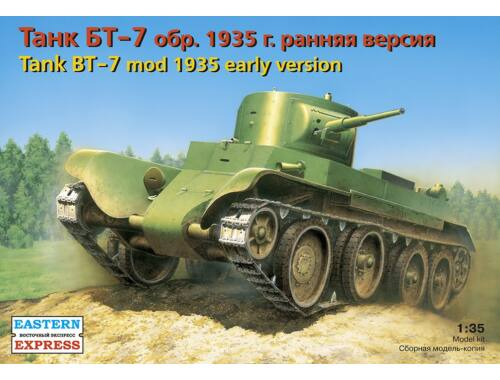 Eastern Express Russ light tank BT-7 (mod 1935) early 1:35 (35108)