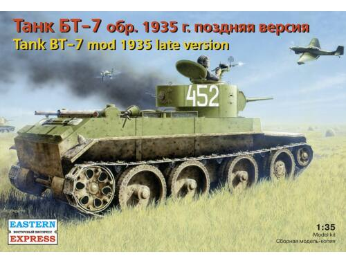 Eastern Express Russ light tank BT-7 (mod 1935) late 1:35 (35109)