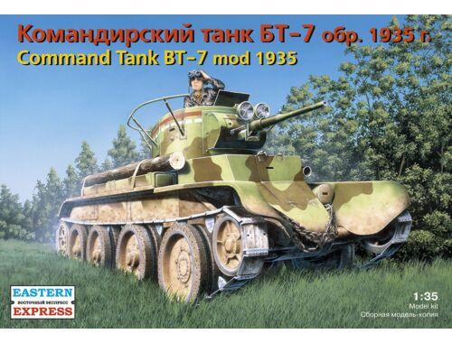 Eastern Express Russ command light tank BT-7 (mod 1935) 1:35 (35110)