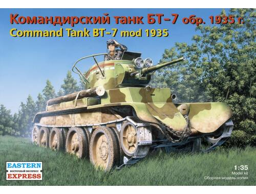 Eastern Express Russ command light tank BT-7 (mod 1935) 1:35 (35110)