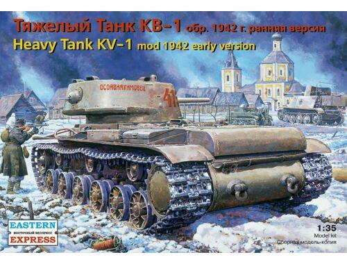 Eastern Express KV-1 Russ heavy tank (mod 1942) early 1:35 (35120)