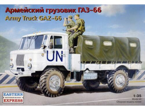 Eastern Express GAZ-66 Russian military truck 1:35 (35131)