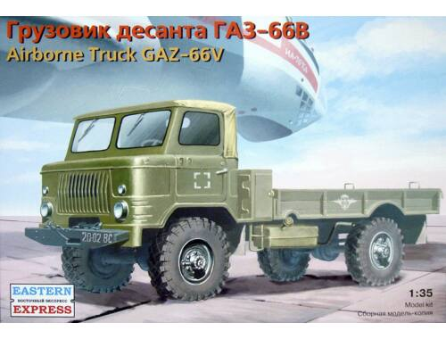 Eastern Express GAZ-66V Russian airborne milit. truck 1:35 (35133)