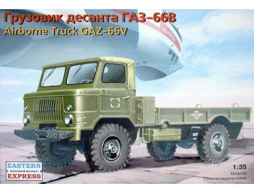 Eastern Express GAZ-66V Russian airborne milit. truck 1:35 (35133)