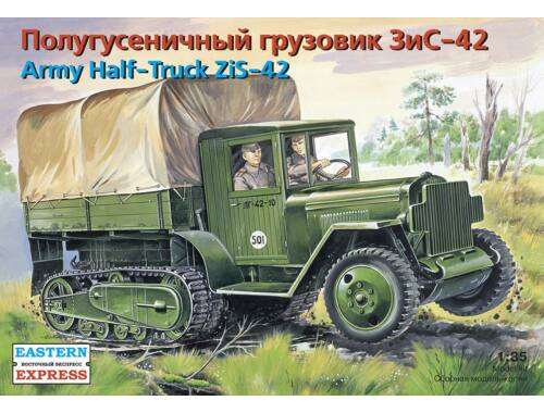 Eastern Express ZiS-42 Russ military half-track 1:35 (35153)
