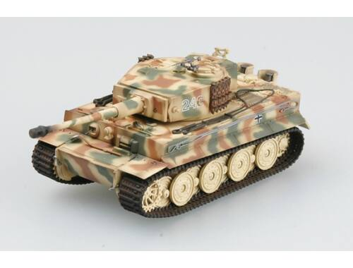 Easy Model Tiger I (Late) Schwere SS Pz.Abt.102, 1944,Normandy , Tiger 242 1:72 (36221)