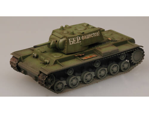 Easy Model KV-1 Russian 1941 Green color 1:72 (36276)