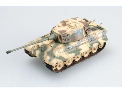 Easy Model Tiger II (Henschel turret) Schwere SS.Pz.Abt.501,tank No.224 1:72 (36294)