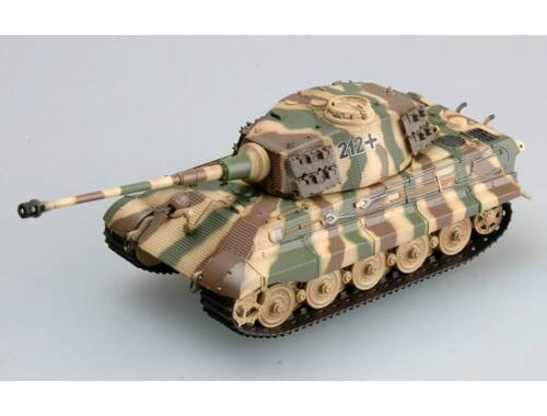 Easy Model Tiger II (Henschel turret) Schwere Pz.Abt.505,tank No.212 1:72 (36295)