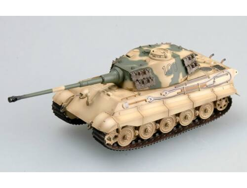 Easy Model Tiger II (Henschel turret) Schwere SS.Pz.Abt.503, tank No.100 1:72 (36296)