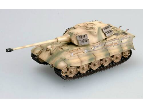 Easy Model Tiger II (Porsche turret) 1./Schwere Pz.Kp,tank No.12 1:72 (36297)