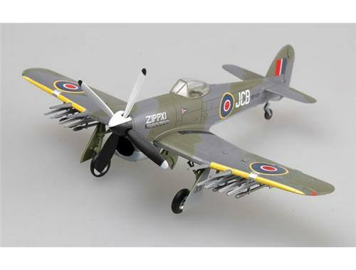 Easy Model Typhoon Mk.IB RB431,Wing123,Plantlunne,1945 1:72 (36310)