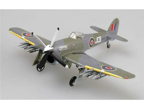 Easy Model Typhoon Mk.IB RB431,Wing123,Plantlunne,1945 1:72 (36310)