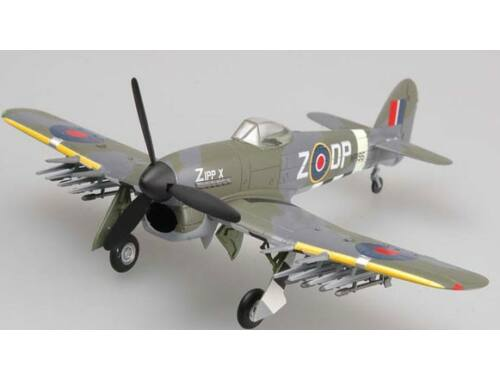 Easy Model Typhoon Mk.IB MP195,DP-Z of No.193 Squadron,August 1944 1:72 (36312)