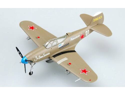 "Easy Model P-39N-0 Russia AF ""White 01"" Jan. 1945 1:72 (36321)"