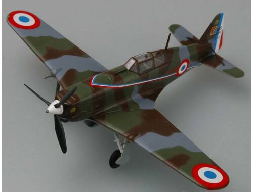 Easy Model MS.406-French Air Force GcII/3,3/4Escadrille 1:72 (36325)