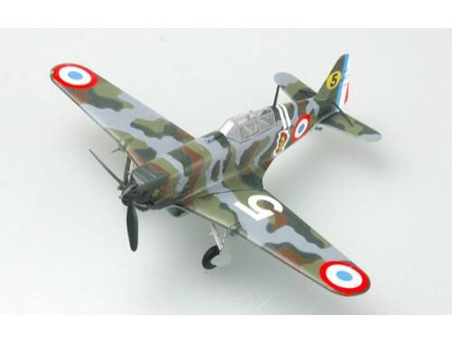Easy Model MS.406 n°795 (L-824) GC III/6. 6 Escadrille 1:72 (36327)