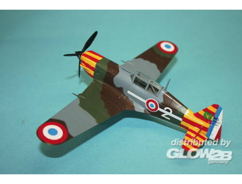 Easy Model MS.406-Vichy Air Force 2 Escadrille 1:72 (36329)