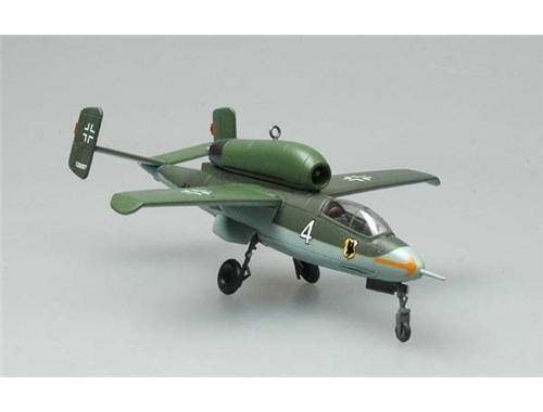 Easy Model He162A-2(W.Nr.120097)1./jg1,May 1945 1:72 (36345)