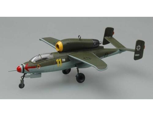 Easy Model He162A-2(W,Br,120074)3./jg1,May 1945 1:72 (36347)