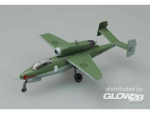 Easy Model He162A-1./JG1 Leck airfield,Germany.May 1945 1:72 (36348)