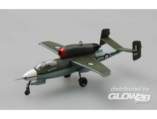 Easy Model He162A-2(W.Nr.120072)Crashed at Aldershot.1945 1:72 (36349)