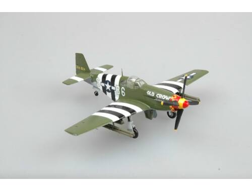 """Easy Model P-51B Capt. Clarence""""Bud""""Anderson of the 362th FS,357FG 1944. 1:72 (36358)"""