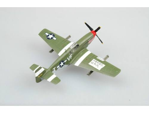Easy Model P-51B Fighter Capt.D.Gentile,336th FS,4THFG 1:72 (36359)