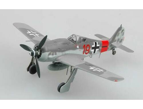 "Easy Model Fw190A-8 ""RED 19"",5./JG300,Base on Reich,October 1944. 1:72 (36361)"