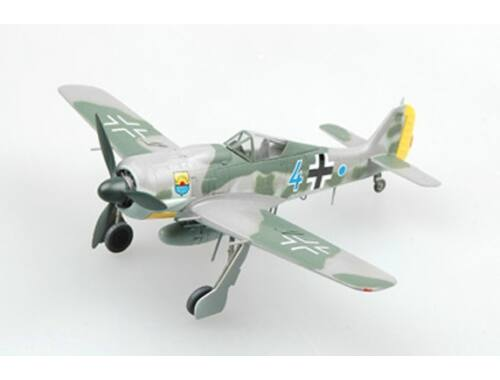 "Easy Model Fw190A-8 ""Blue 4"" Commander of 12./JG 5, Bardufoss Airfield, 1944 1:72 (36363)"