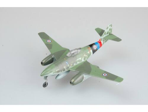 "Easy Model Me262 A-1a ""Yellow 7"", Captured by UK,May 1945 in Lubeca. 1:72 (36367)"