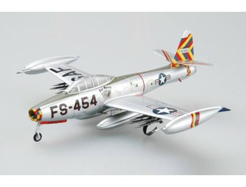 """Easy Model F-84G """"Four Queens/OLIE"""", Flown by Joe Davis 1953. 1:72 (36800)"""