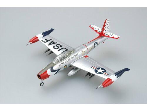 "Easy Model F-84G USAF ""THUNDERBIRDS"" 1955 1:72 (36801)"