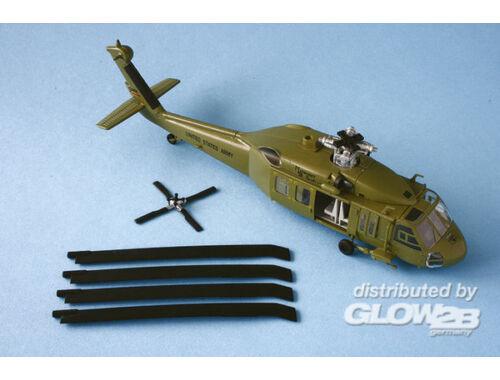 Easy Model UH-60 Midnight bule 101 airborne 1:72 (37016)