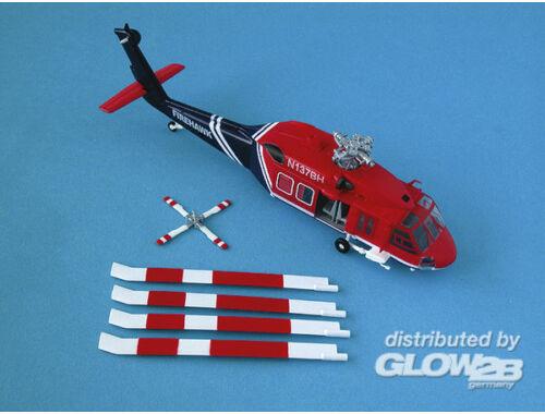"Easy Model UH-60A American "" Firehawk"" 1:72 (37019)"