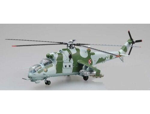 Easy Model Mi-24 Polish Air Force No741 1:72 (37038)