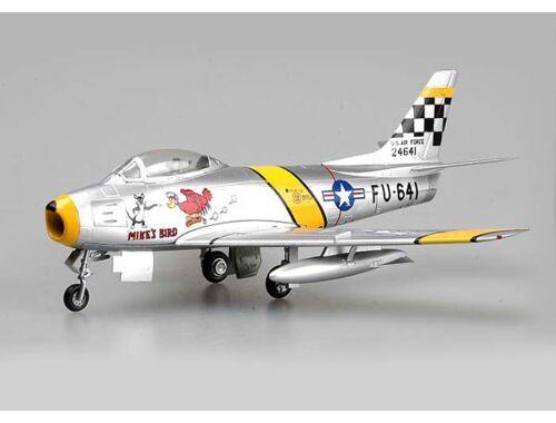 Easy Model F-86F30,39FS/51 FW,Flown by Chrles McSain.Kroea,1953 1:72 (37104)