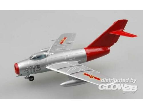 """Easy Model Mig-15 Chinese Air Force""""Red fox"""" 1:72 (37131)"""