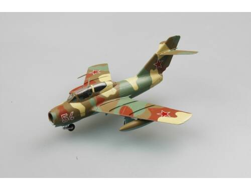 """Easy Model Mig-15UTI """"Red 54""""of Russian Air Force,August 1980 1:72 (37135)"""