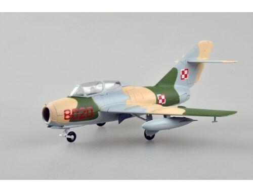 Easy Model Mig-15UTI Polish Air Force 1:72 (37139)