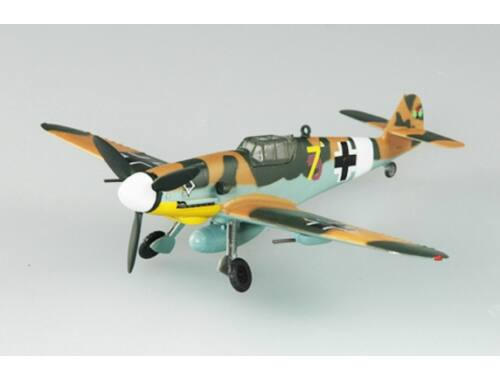 Easy Model BF-109G-2 III. /JG53 1943 Tunisia 1:72 (37252)