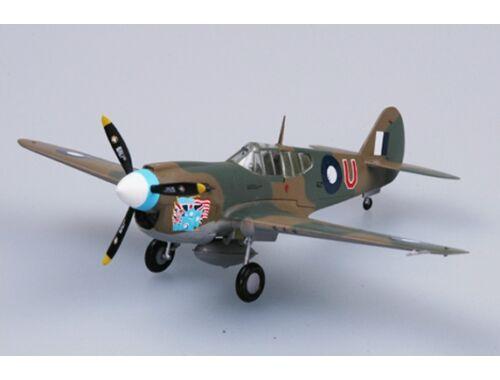 Easy Model P40E Tomahawk 77 Sqn RAAF 1942 1:72 (37271)