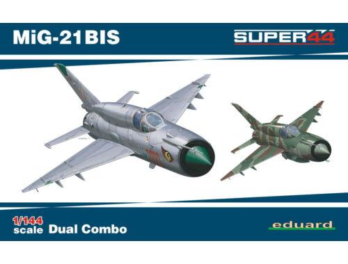 Eduard MiG-21BIS DUAL COMBO SUPER44 1:144 (4427)