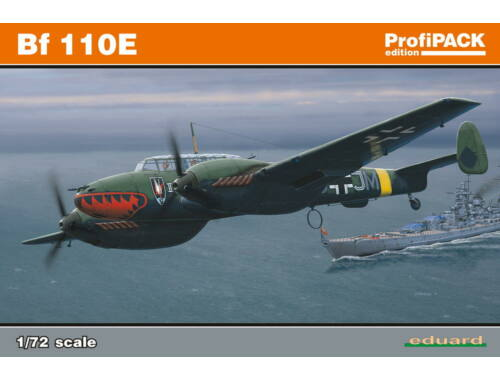 Eduard Bf 110E ProfiPACK 1:72 (7083)