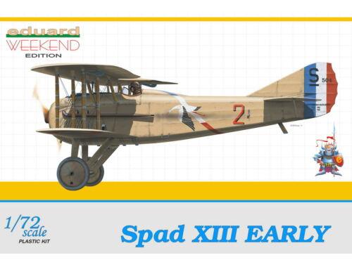 Eduard Spad XIII Early WEEKEND edition 1:72 (7411)