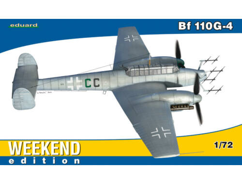 Eduard Bf 110G-4 WEEKEND edition 1:72 (7422)