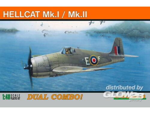 Eduard HELLCAT Mk.I/Mk.II DUAL COMBO ProfiPACK 1:48 (8223)