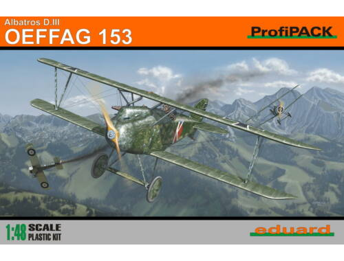 Eduard Albatros D.III OEFFAG 153 ProfiPACK 1:48 (8241)
