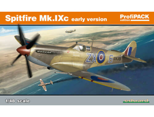 Eduard Spitfire Mk.IXc early version (ReEd) ProfiPACK 1:48 (8282)