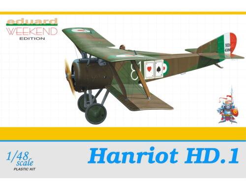 Eduard Hanriot HD.1 WEEKEND edition 1:48 (8412)